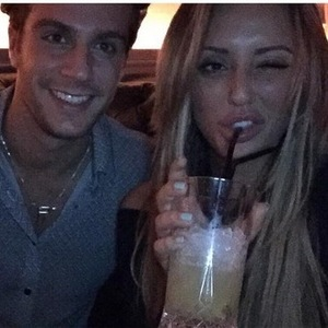 Charlotte Crosby and Max Morley in Newcastle 11 September