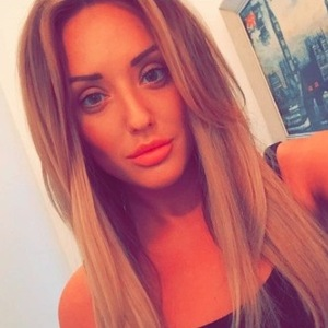 Charlotte Crosby shares selfie after being announced as the new face of Mark Hill Hair 18th September 2015