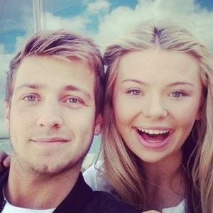 Sam Thompson and Georgia Toffolo, Instagram 2014