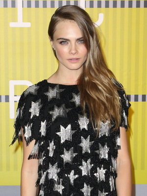 Cara Delevingne attends the MTV Video Music Awards, LA 30 August