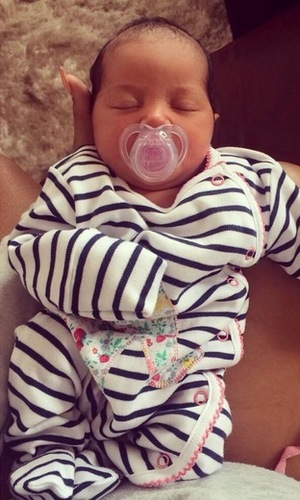 Lateysha Grace shares new photos of daughter Wynter 12 September