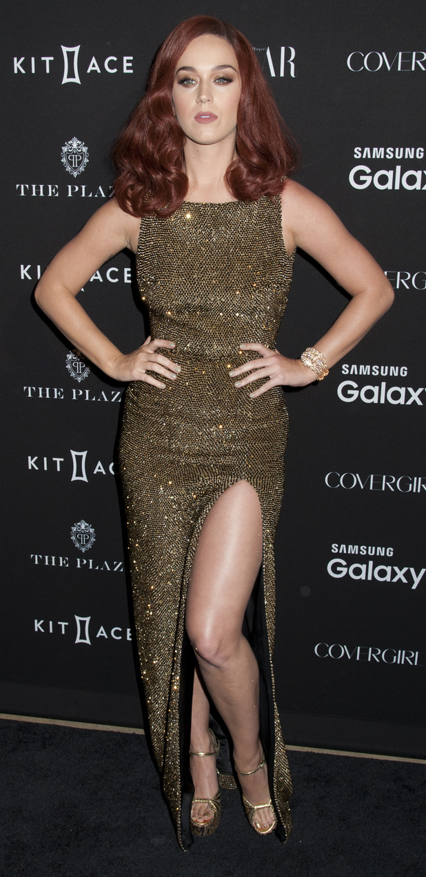 Katy Perry at the Harper's Bazaar ICONS party in New York, 17th September 2015