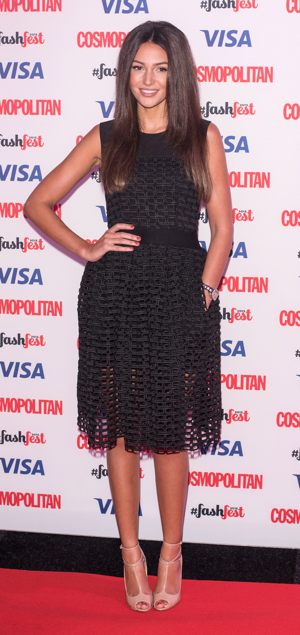 Michelle Keegan at the Cosmopolitan Fashfest in London, 18th September 2015