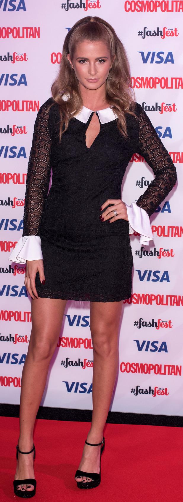 Millie Mackintosh at the Cosmopolitan FashFest, 18th September 2015