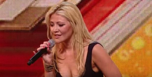 X Factor hopeful Hannah Marie Kilminster - September 2015.
