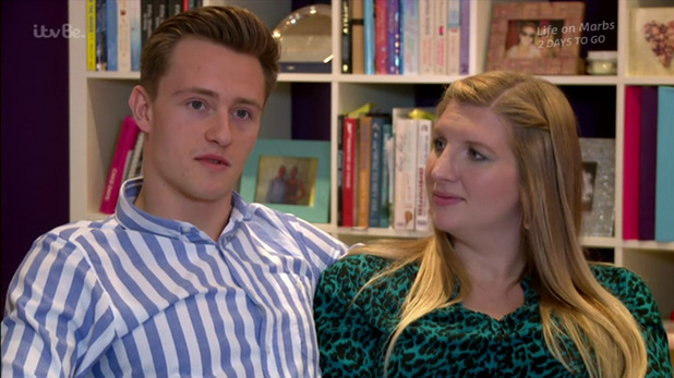 Rebecca Adlington and Harry Needs on the ITVBe reality show 'Seven Days With...'. Broadcast on ITVBe. - 20 July 2015.