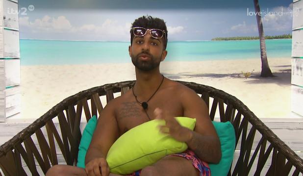 Love Island: Omar Sultani, Broadcast on ITV2 HD. 10 June 2015.