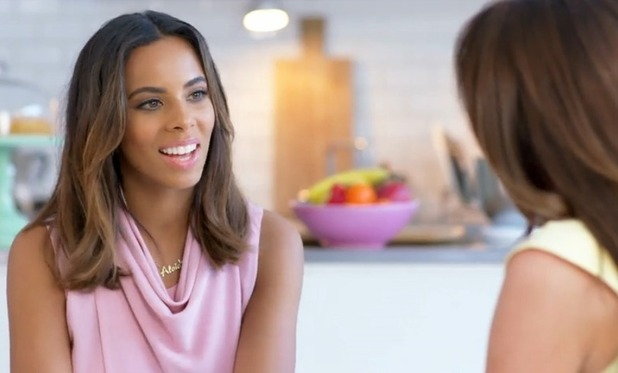 Michelle Heaton talks Being Mum with Rochelle Humes - 17 Sep 2015