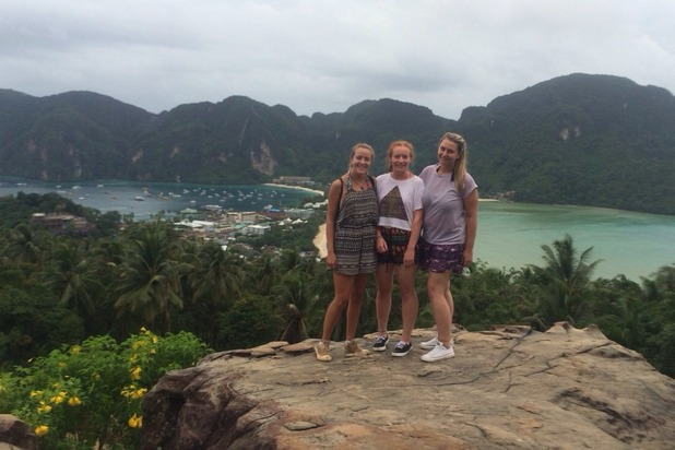 At the top of Phi-Phi's view point, Thailand.14/7/15