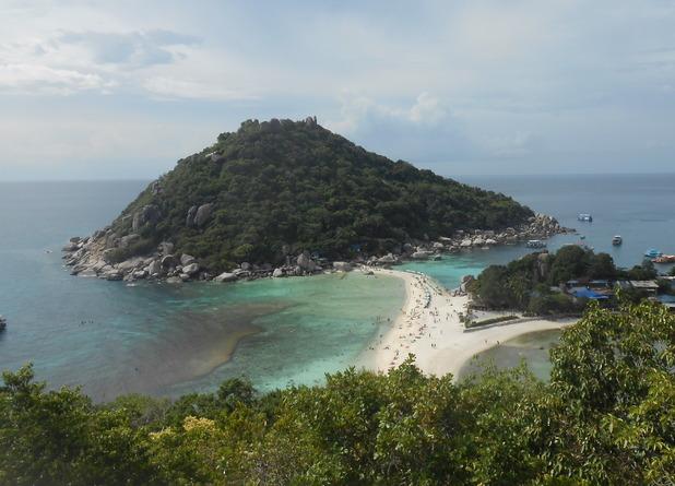 Nang Yuan Island, Koh Tao, Thailand. 14/9/15
