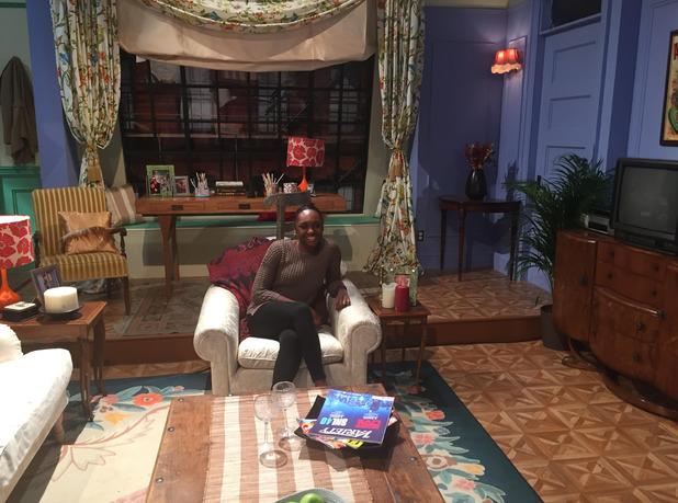 Comedy Central's FriendsFest - Monica Geller's apartment - 16 September 2015.