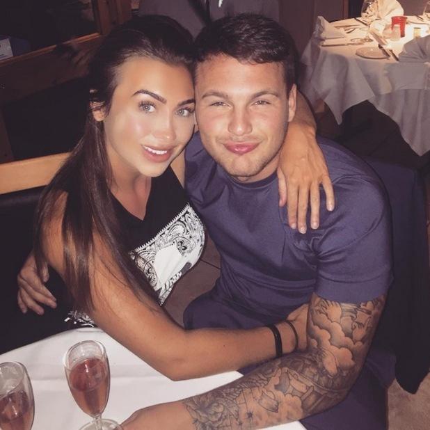 Lauren Goodger and Jake McLean 17 September