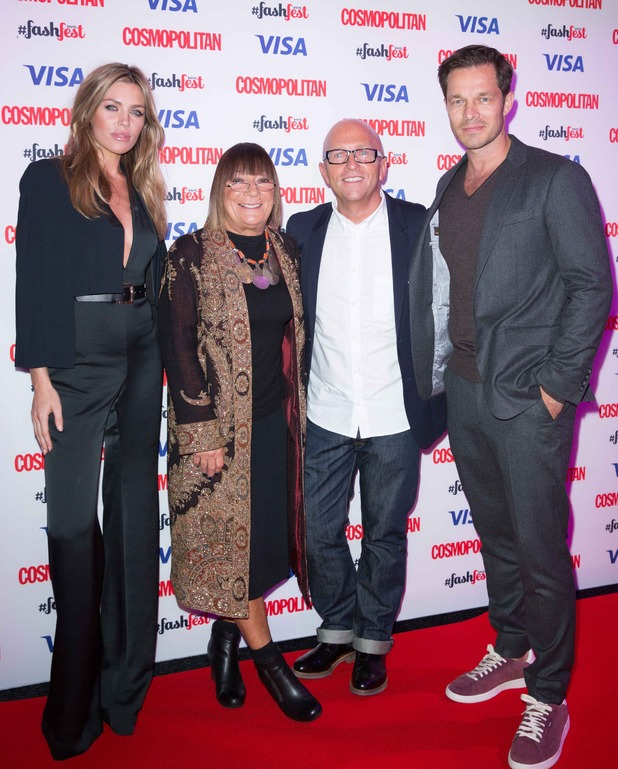Britain's Next Top Model judges Abbey, Paul, Hilary and Nicky make debut at Cosmopolitan Fashfest - 17 September 2015.