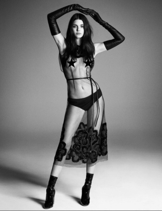 Kendall Jenner appears in Japanese Vogue, September 2015