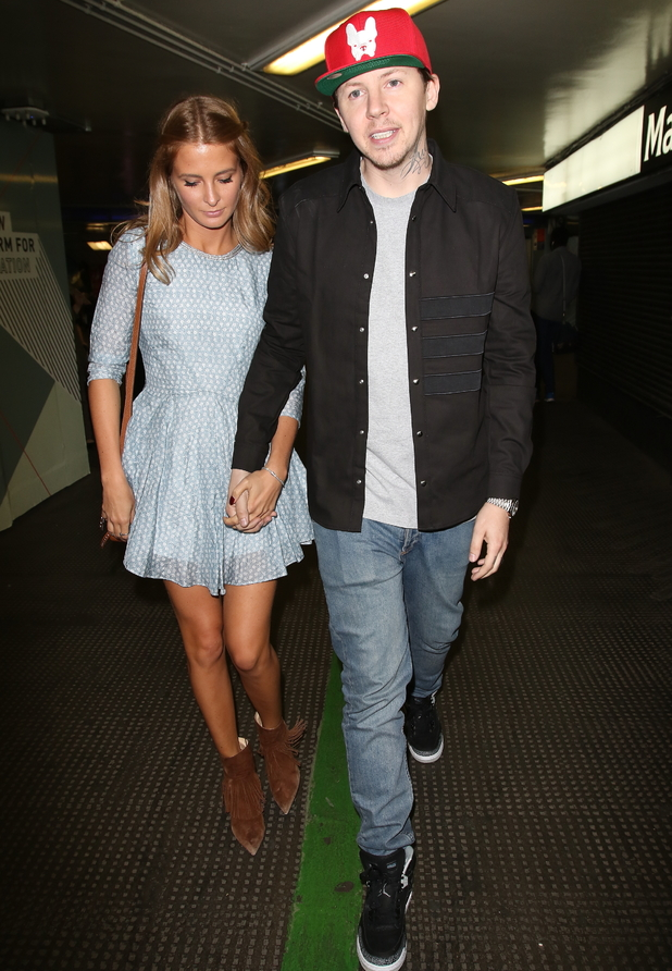 Professor Green and Millie Mackintosh attend book launch party for 'Gizzi's Healthy Appetite: Food To Nourish The Body And Feed The Soul' 4 August