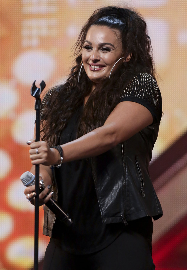 Monica Michael at X Factor arena auditions. London - Day 8. Aired: 12 September 2015.