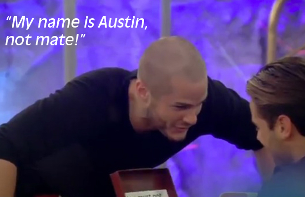 CBB: Austin and James talk about word 'mate'