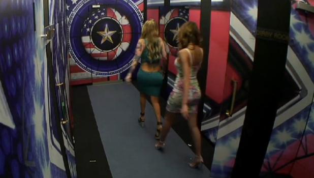 CBB Day 18: Jenna and Farrah re-enter the house.