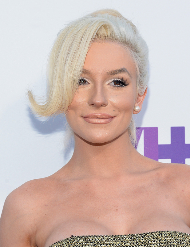 Courtney Stodden attends the 5th Annual Streamy Awards at Hollywood Palladium on September 17, 2015 in Los Angeles, California. (Photo by Michael Tullberg/Getty Images)