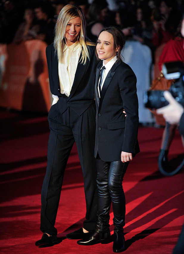 40th Toronto International Film Festival - 'Freeheld' - Premiere Ellen Page and Samantha Thomas
