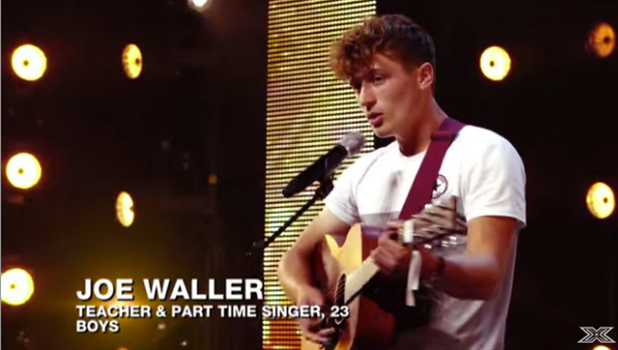 X Factor auditions: Joe Waller