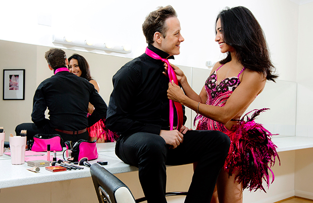 Wear It Pink for Breast Cancer Now 2015 Kevin and Karen Clifton