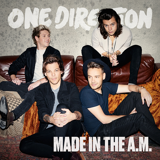 One Direction's album cover for Made In The A.M.