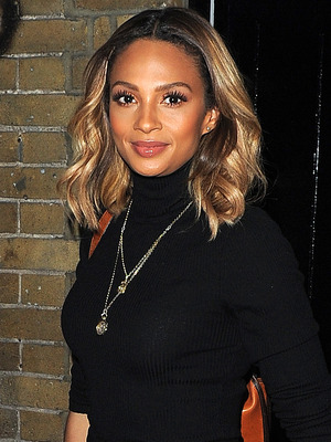Alesha Dixon attends Comedy Central's FriendsFest launch party at The Boiler House, Brick Lane, London 15 September