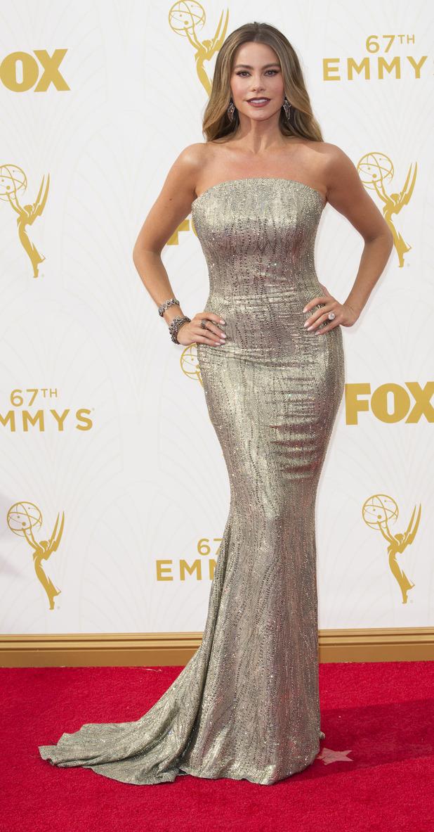 Sofia Vergara at the 67th Annual Pirmetime Emmy Awards 2015, 21st September