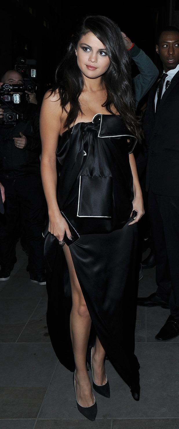 Selena Gomez at Annabel's members club in Mayfair London, 25th September 2015