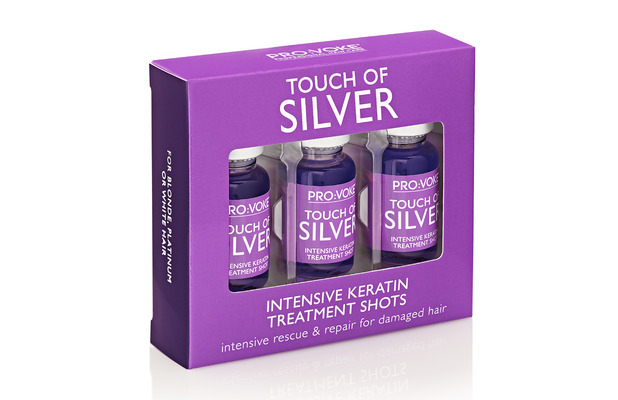 Touch Of Silver Intensive Keratin Treatment Shots £6.99, 24th September 2015