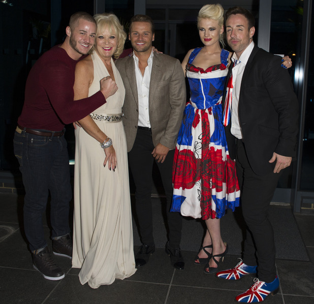 Celebrity Big Brother arrivals at the after party at the Village Hotel in London. 25 September 2015.