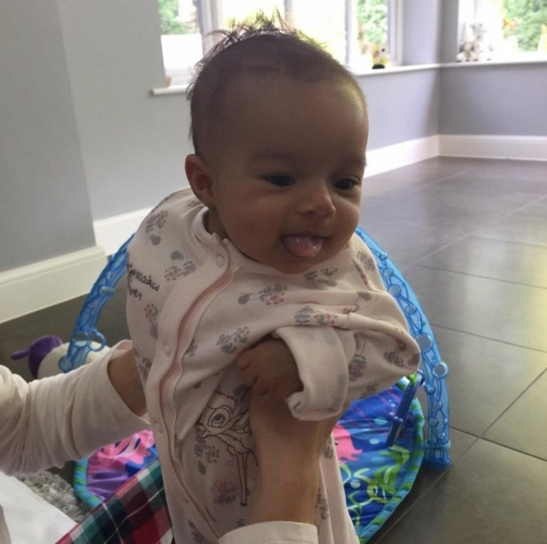 Helen Flanagan shares photo of daughter Matilda as she turns three months old 21 September