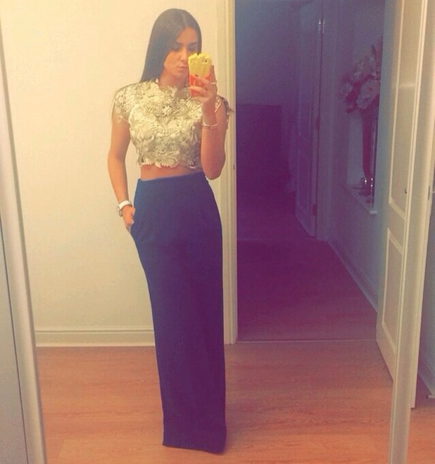 Brooke Vincent Blog: Saturday Night outfit 22 September