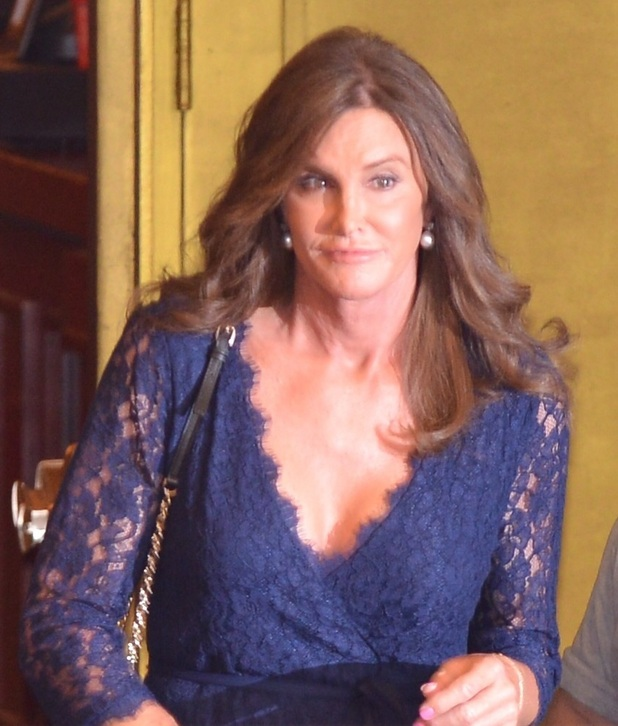 Caitlyn Jenner leaves a broadway show in New York, 1st July 2015