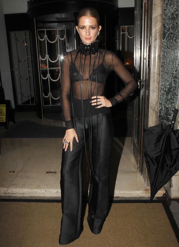 Millie Mackintosh attends William Vintage VIP dinner held at Claridges, 21st September 2015
