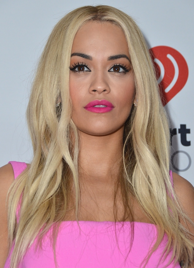 Rita Ora in pink at the iHeartRadio's Music Festival, Las Vegas 21st September 2015
