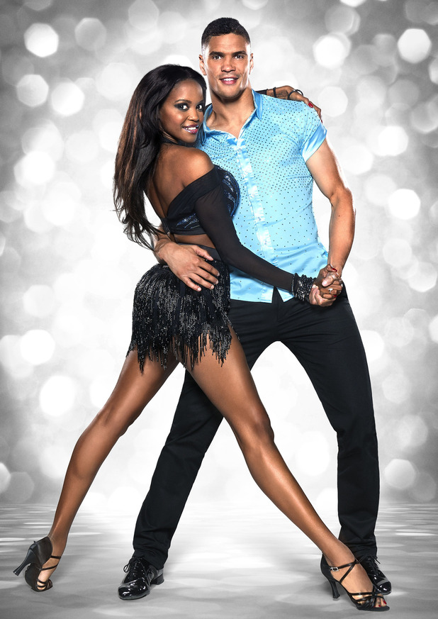 Strictly Come Dancing 2015: Anthony Ogogo and Oti Mabuse.
