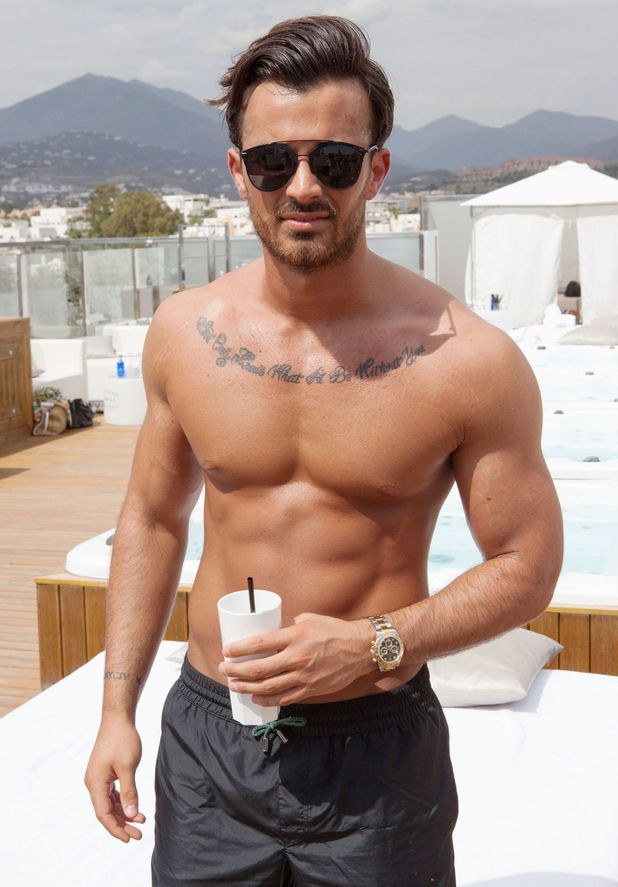 Michael Hassini, TOWIE's new cast member 22 September