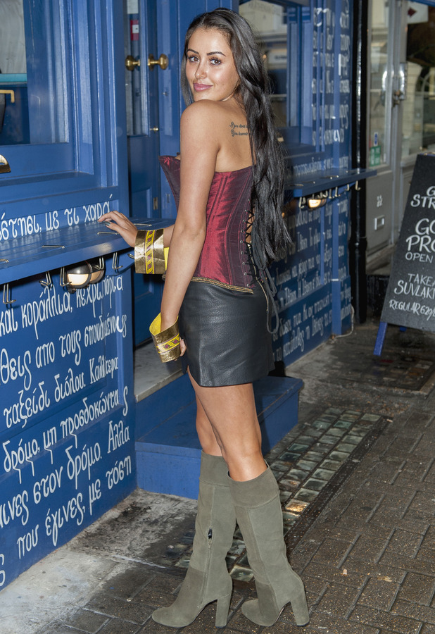 Marnie Simpson attends Geordie Shore series 11 launch, London 21 September