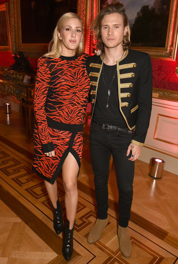Ellie Goulding and Dougie Poynter attend the London 2015 Green Carpet Collection By Erdem, London 21 September