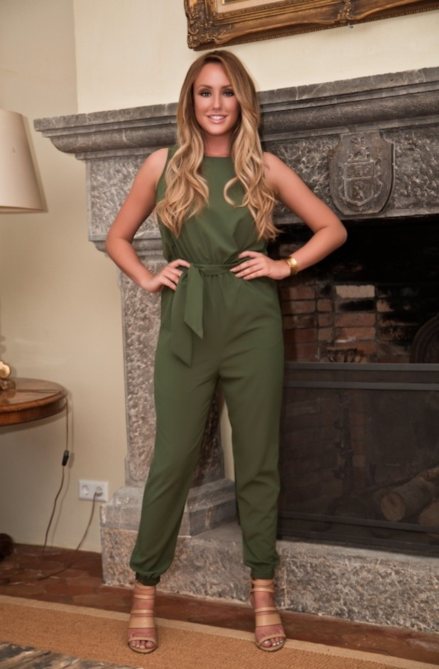 Charlotte Crosby Green Jumpsuit £35.99 25th September 2015