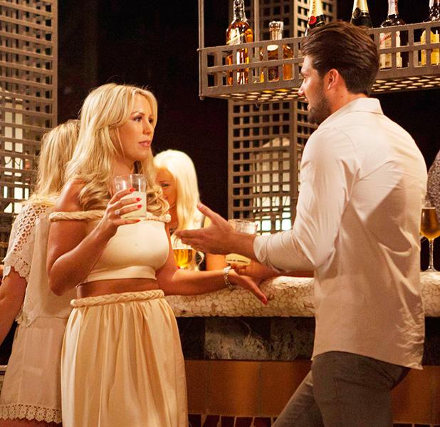 TOWIE Cast in Marbella, Spain - 22 Sep 2015 Dan Edgar, Kate Wright
