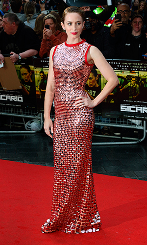 UK Premiere of 'Sicario' at the Empire Leicester Square, London Emily Blunt