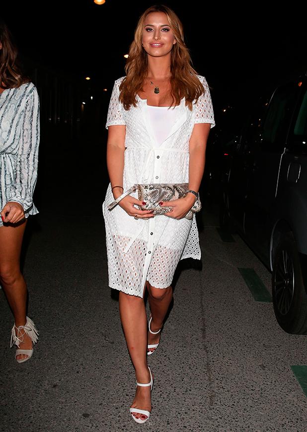 TOWIE Cast at Olivia's Restaurant, Marbella, Spain - 20 Sep 2015 Ferne McCann
