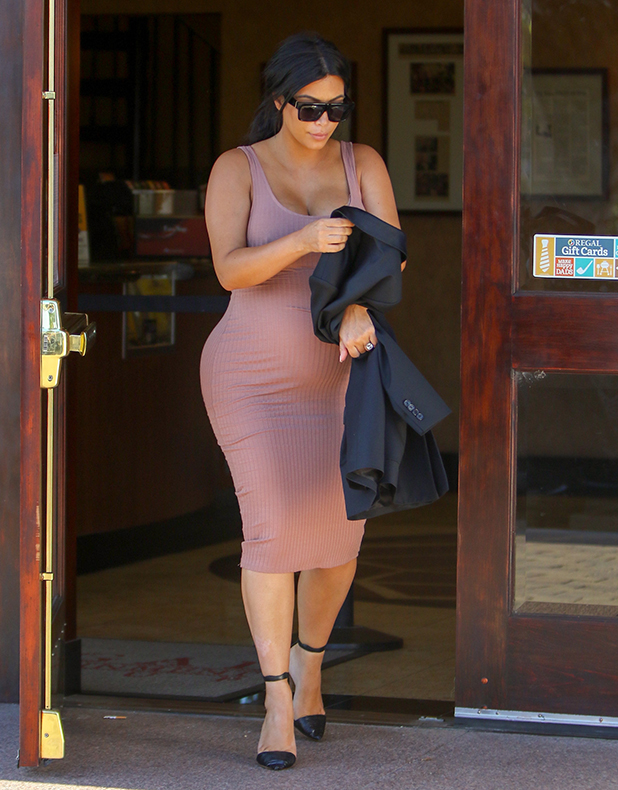 Kim Kardashian is seen on September 20, 2015 in Los Angeles, California. (Photo by Bauer-Griffin/GC Images)