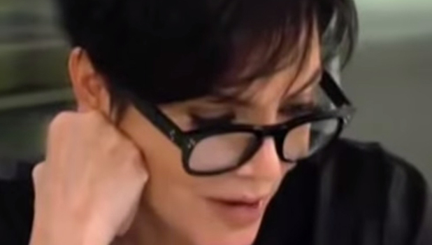 Kris Jenner reads reports about Scott and mystery stylist 2015
