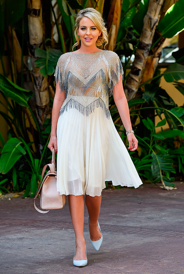 """Lydia Bright leaves her hotel in Marbella to head for filming """"The Only Way Is Marbs"""""""