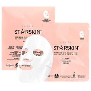 Starskin Close-Up Firming Bio-Cellulose Second Skin Facial Mask