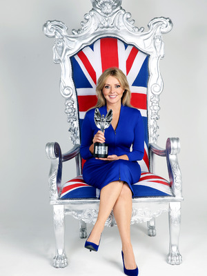 Daily Mirror Pride Of Britain Awards, Carol Vorderman, Thu 1 Oct